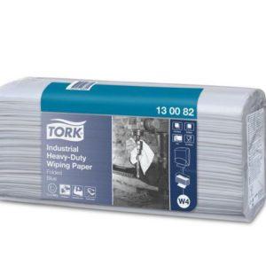 Tørkeark TORK Plus sterk 3L W4 blå (100