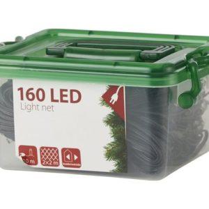 Lyskjede 160 LED 2x2m