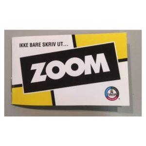 Brosjyre Kopipapir Zoom