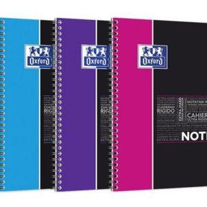 Notatbok OXFORD Notebook B5 linjer ass