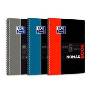 Notatbok OXFORD Nomad B5 ruter ass