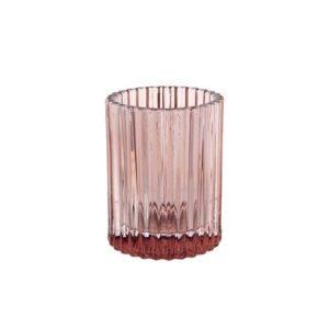 Lysholder DUNI Glass 70x55mm brun
