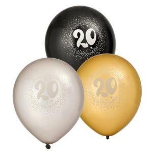 """Ballong JOKER 12"""" 20 år"""