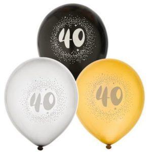 """Ballong JOKER 12"""" 40 år"""