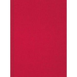 Skrivebok BURDE A5 linjer rød