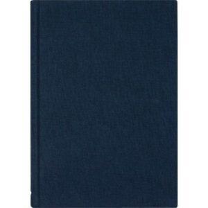 Skrivebok BURDE A5 ulinjert blå