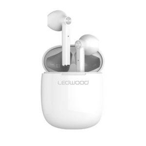 Øreplugger LEDWOOD T16 TWS mic hvit