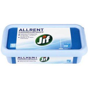 Engangsvåtmopp JIF Allrent