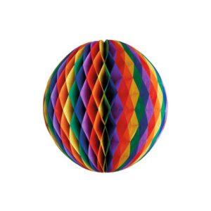 "Pompom ball PAPSTAR Ø30cm ""Rainbow"""