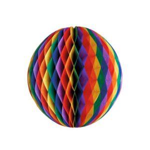 "Pompom ball PAPSTAR Ø60cm ""Rainbow"""