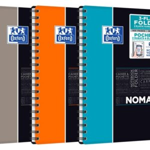 Notatbok OXFORD Nomad B5 linjer ass