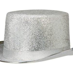 Partyhatt sølv