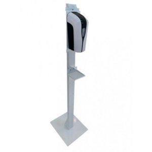 Gulvstativ PLS til dispenser hvit