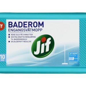 Engangsvåtmopp JIF Baderom