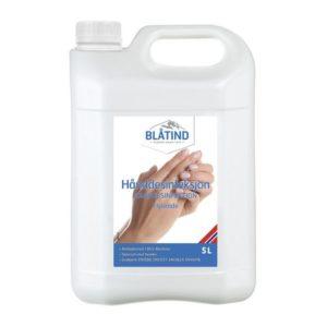 Hånddesinfeksjon BLÅTIND flytende 5L