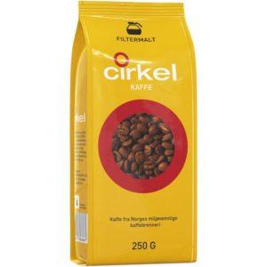 Kaffe CIRKEL filtermalt 250g