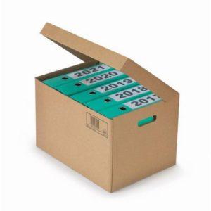 Arkivboks med lokk for brevordnere
