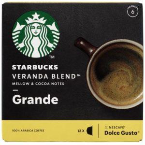 Kaffekapsel STARBUCKS Veranda Blend (12
