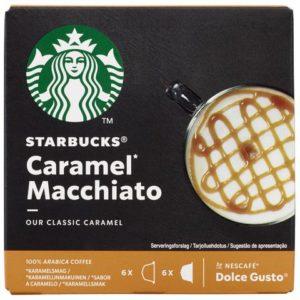 Kaffekapsel STARBUCKS Caramel M. (12)