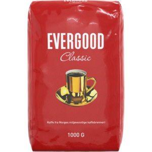 Kaffe EVERGOOD proff finmalt 1000g