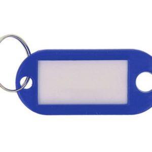 Nøkkelskilt WESTCOTT plast blå (100)