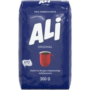 Kaffe ALI grovmalt 300g