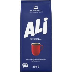 Kaffe ALI filtermalt 250g
