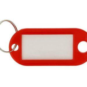 Nøkkelskilt WESTCOTT plast rød (100)