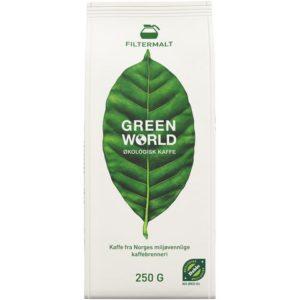 Kaffe GREEN WORLD filtermalt økolog 250