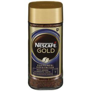 Kaffe NESCAFÉ Gull koffeinfri 100g