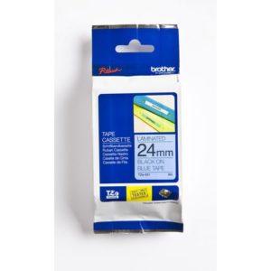 Tape BROTHER TZe-551 24mmx8m sort/blå