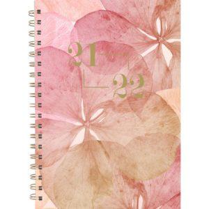 Kalender GRIEG Student A6 21/22 blomst