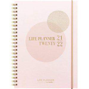 Ukekalender Life Planner Pink A5 21/22