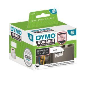Etikett DYMO Durable 57mm x 32mm (800)