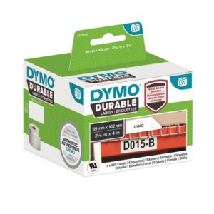 Etikett DYMO Durable 59mm x 102mm (300)