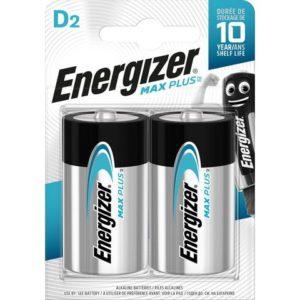 Batteri ENERGIZER Max Plus D (2)
