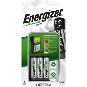 Batterilader ENERGIZER Maxi + 4AA2000mA