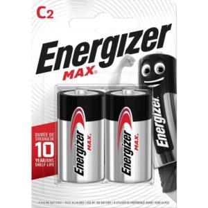 Batteri ENERGIZER Alka Max C LR14 (2)