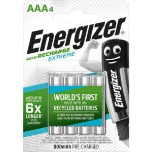 Batteri ENERGIZER Extreme AAA/NH12 (4)