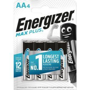 Batteri ENERGIZER Alkaline Max P. AA(4)