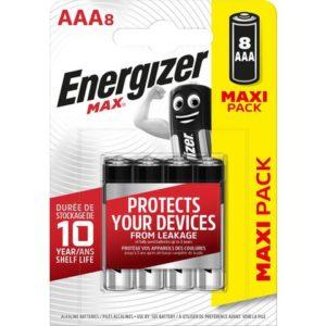 Batteri ENERGIZER Alka Max AAA/LR03(8)