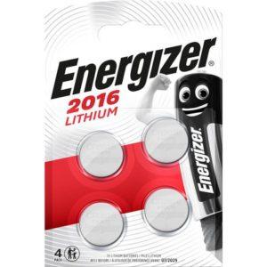 Batteri ENERGIZER Cell Lithium 2016 (4)