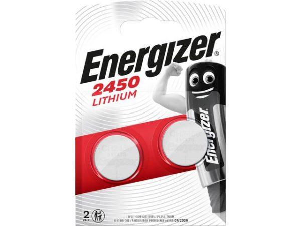 Batteri ENERGIZER Lithium CR2450 3V (2)