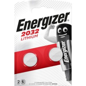 Batteri ENERGIZER Lithium CR2032 (2)