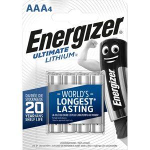 Batteri ENERGIZER U.Lithium AAA/LR03 (4