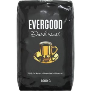 Kaffe EVERGOOD dark ex finmalt 1000g (9