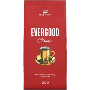 Kaffe EVERGOOD filtermalt 500g