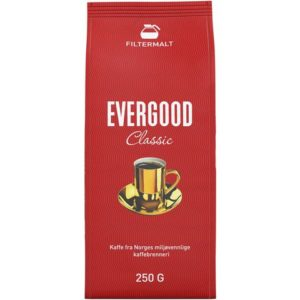 Kaffe EVERGOOD filtermalt 250g