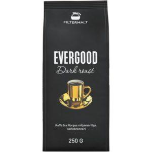Kaffe EVERGOOD dark filtermalt 250g