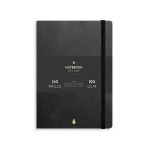 Notatbok BURDE Deluxe A5 sort